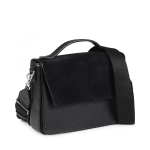 Luna Crossbody Bag Suede Mix