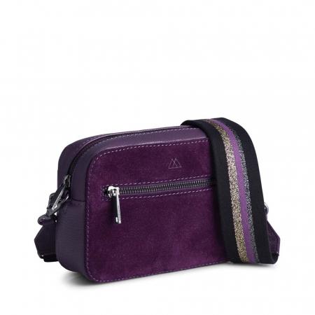 Elea Crossbody Bag Suede Mix