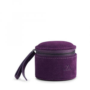 Lova Jewelry Box Small Suede Purple