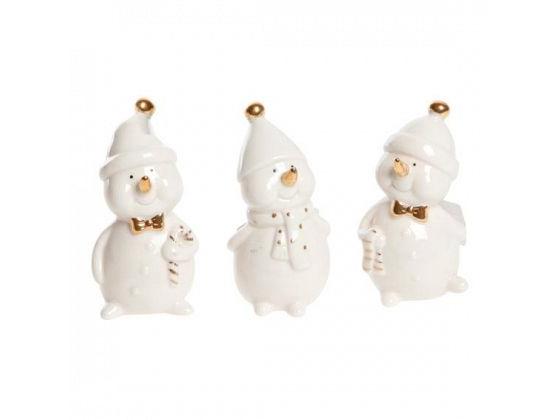 Snømannfigurer