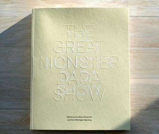 The Great Monster Dada Show-katalog engelsk