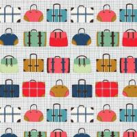 Travel daze suitcase