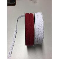 Bomullsblonde 11 mm-rød
