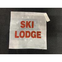 Ski lodge putetrekk 45x45