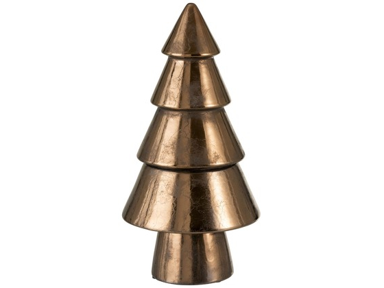 Tree Deco Earthenware Bronze