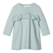 Saga langermet kjole baby Gray Mist