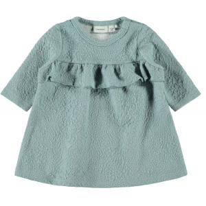Saga langermet kjole baby
