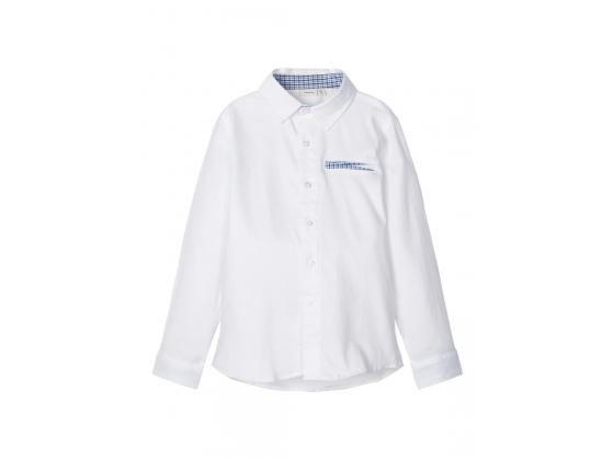 Rapsu langermet skjorte kids Bright White