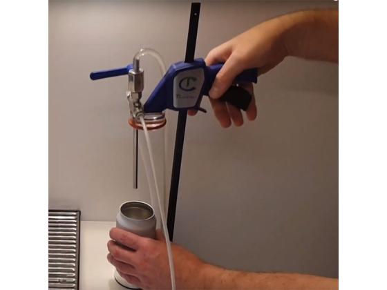 Tapcooler Boksfyllingsstasjon for Mottrykksfyller
