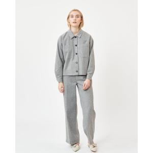 Poloma bukser gråmelert