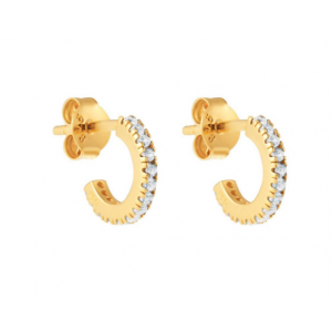 Simplicity mini hoops - Gold