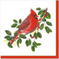 """""""Winter Songbirds"""" kaffeserviett"""