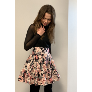 Structured Cotton Skirt