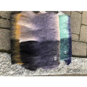 Mohair fluffy scarf