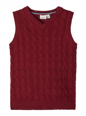 Silliam strikket vest mini