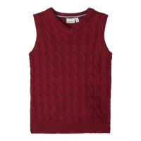 Silliam strikket vest mini Cabernet