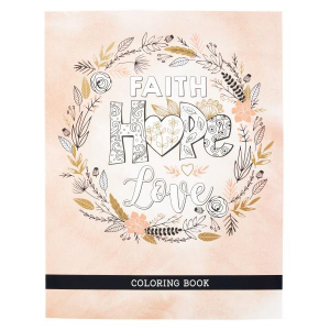 FARGEBOK - Faith Hope Love