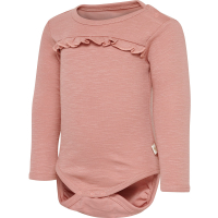 Hummel Berit body med volang Ash Rose