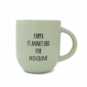 Kopp Pappa Et annet ord for minibank