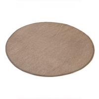 Sisal teppe  Ø-200cm med kanting
