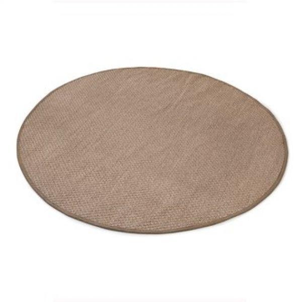 Sisal teppe  Ø-160cm med kanting