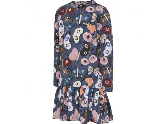 Hummel Kylie kjole mønstret Vintage Indigo