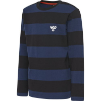 Hummel Bill T-skjorte lang arm Black/Blue