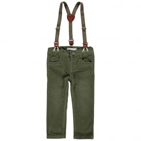 Bukse med bukseseler   Lindex