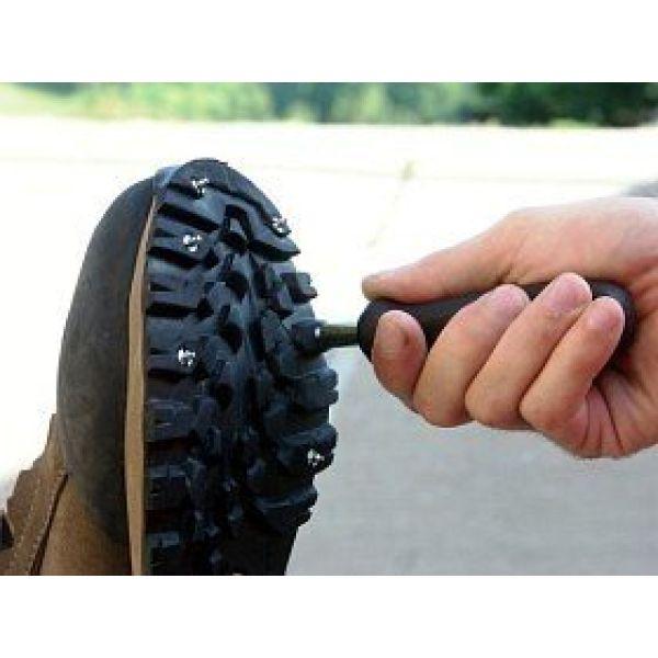 Broddekit til sko m/verktøy