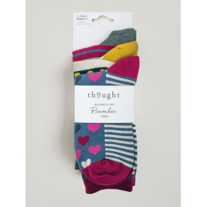 Hearts And Stripes Socks