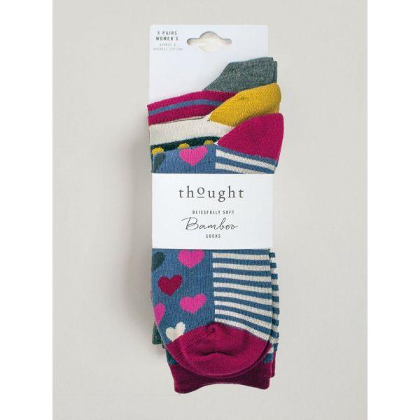 Hearts And Stripes Socks