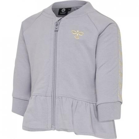 Hummel Margret zip jakke Lilac Gray