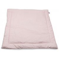 Leketeppe 100x100 cm.Satin Hearts Baby Pink