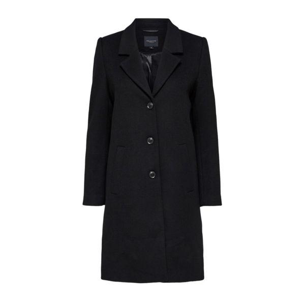 Sasja wool coat - Black