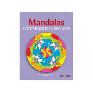 Mandalas malebok Eventyrlig Enhjørning