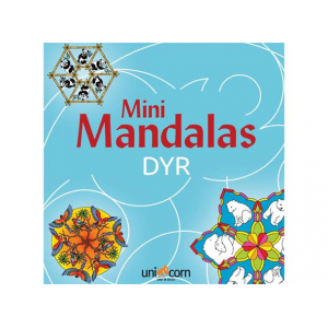 Mini Mandalas Dyr