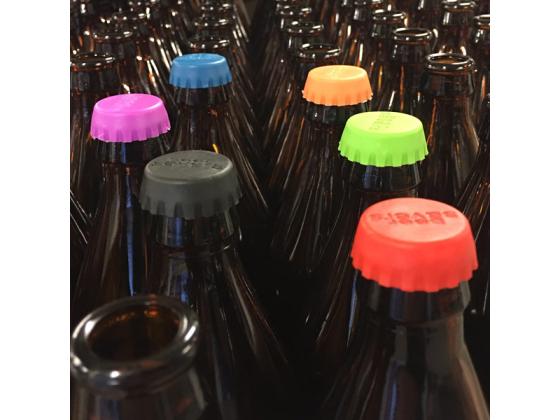Silikon flaskekapsler 6pk