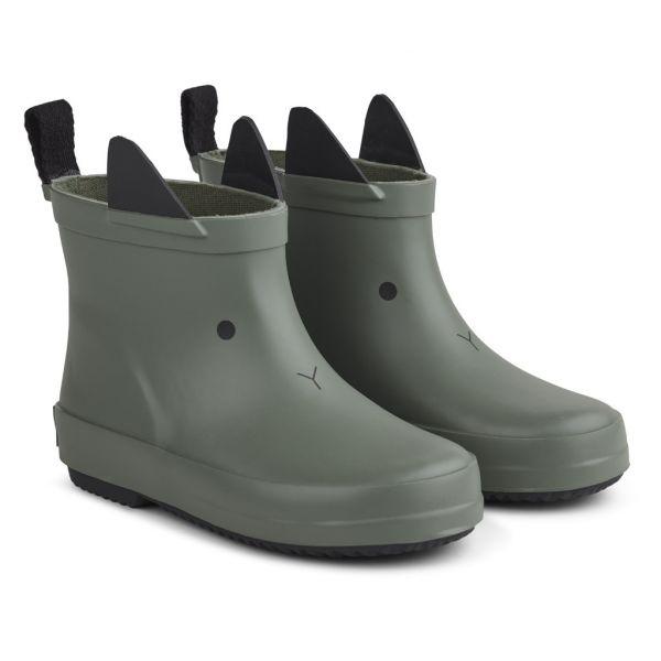 LIEWOOD - TOBI RAIN BOOTS RABBIT FAUNE GREEN