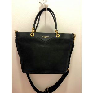 Nubuck leather small size shoppimg bag