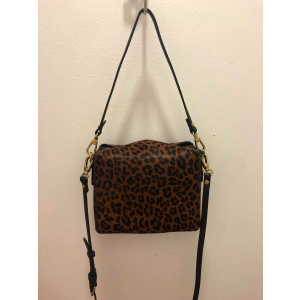 Leopard convertible clutch