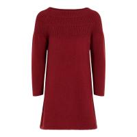 Fotilde strikket kjole Mini Biking Red