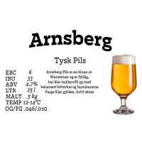 Arnsberg Pils 25 liter