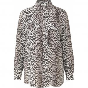Nadia silk shirt leopard