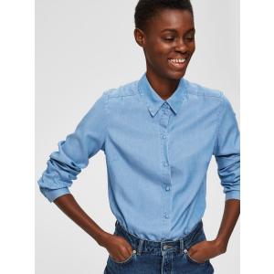 Mattie skjorte lyseblå
