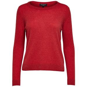 Aya Cashmere Knit True Red