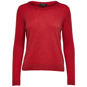 Aya Cashmere Knit True Red