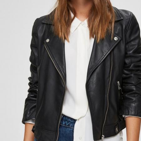 Katie Leather Jacket NOOS