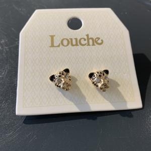 Tiger Stud Earring