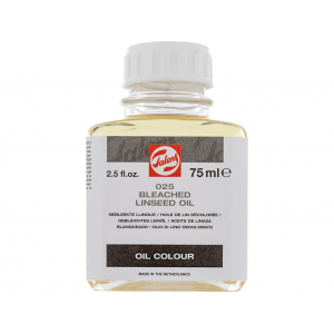 TALENS BLEECHED LINSEED OIL 025 - 75ML B