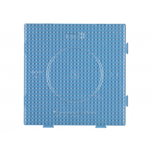 Hama Midi Piggplate – Firkantet 14,5×14,5 transparent